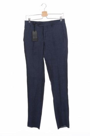 Мъжки панталон Liu Jo, Размер S, Цвят Син, Лен, Цена 95,52лв.