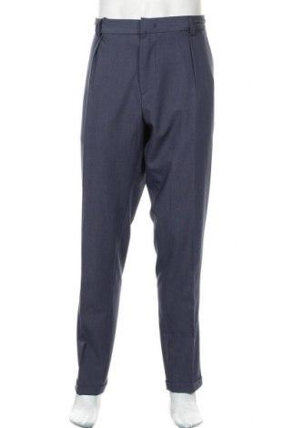 Pantaloni de bărbați Liu Jo, Mărime XL, Culoare Albastru, 70% poliamidă, 24% viscoză, 6% elastan, Preț 93,26 Lei