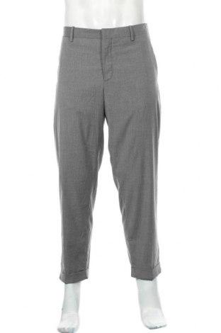 Pánské kalhoty  Mango, Velikost XL, Barva Šedá, 68% polyester, 29% viskóza, 3% elastan, Cena  494,00Kč