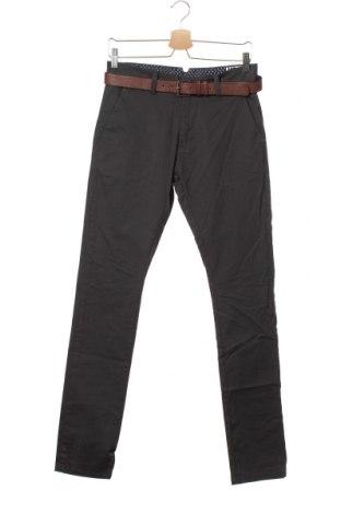 Pánské kalhoty  Mr. F, Velikost S, Barva Šedá, 98% bavlna, 2% elastan, Cena  337,00Kč