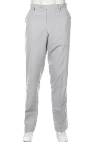 Мъжки панталон Oppo Suits, Размер L, Цвят Сив, Полиестер, Цена 57,00лв.