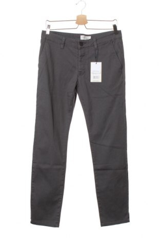 Мъжки панталон Pier One, Размер S, Цвят Сив, 98% памук, 2% еластан, Цена 34,50лв.