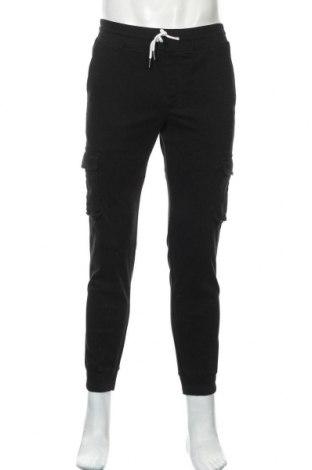 Мъжки панталон Pier One, Размер M, Цвят Черен, 98% памук, 2% еластан, Цена 32,48лв.