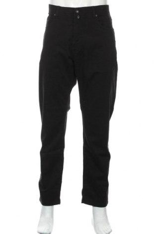 Мъжки панталон Pierre Cardin, Размер XXL, Цвят Черен, 86% памук, 14% еластан, Цена 37,91лв.