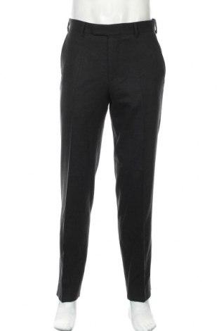 Ανδρικό παντελόνι Pierre Cardin, Μέγεθος M, Χρώμα Μαύρο, 98% μαλλί, 2% ελαστάνη, Τιμή 29,62€