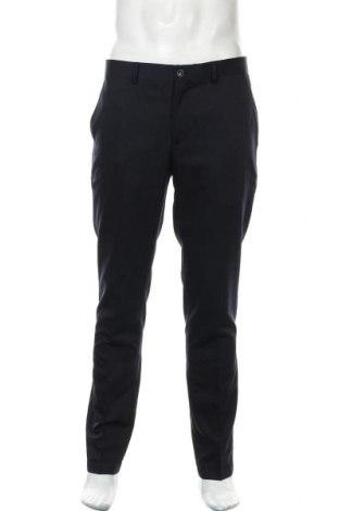 Pánské kalhoty  Selected Homme, Velikost L, Barva Modrá, 78% polyester, 17% viskóza, 5% elastan, Cena  581,00Kč