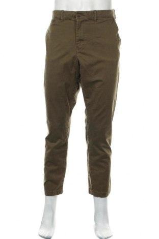 Ανδρικό παντελόνι Tommy Hilfiger, Μέγεθος XL, Χρώμα Πράσινο, 97% βαμβάκι, 3% ελαστάνη, Τιμή 24,06€