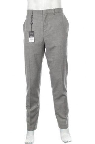 Ανδρικό παντελόνι Topman, Μέγεθος XL, Χρώμα Γκρί, 87% πολυεστέρας, 13% βισκόζη, Τιμή 24,74€