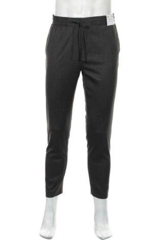 Pánské kalhoty  Topman, Velikost M, Barva Šedá, 66% polyester, 32% viskóza, 2% elastan, Cena  450,00Kč