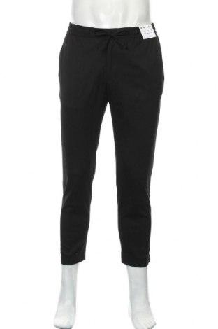 Pánské kalhoty  Topman, Velikost XL, Barva Černá, 65% polyester, 34% viskóza, 1% elastan, Cena  385,00Kč