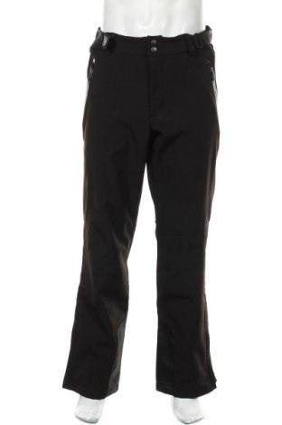 Мъжки панталон за зимни спортове Active, Размер L, Цвят Черен, 92% полиестер, 8% еластан, Цена 22,21лв.