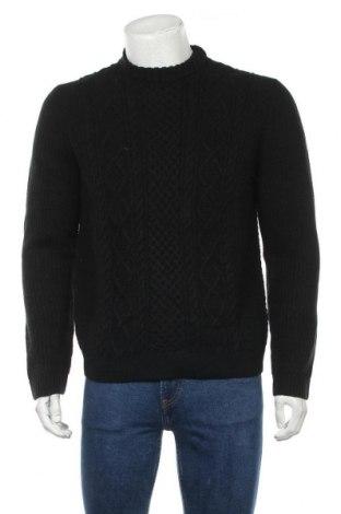 Мъжки пуловер, Размер L, Цвят Черен, Цена 30,36лв.