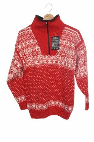 Pánský svetr , Velikost XS, Barva Červená, Vlna, Cena  401,00Kč
