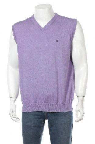 Pánský svetr  Casa Moda, Velikost L, Barva Fialová, Bavlna, Cena  409,00Kč