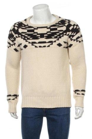 Мъжки пуловер Clockhouse, Размер M, Цвят Бежов, Акрил, Цена 18,56лв.
