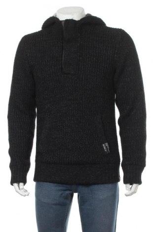 Мъжки пуловер Edc By Esprit, Размер L, Цвят Черен, 70% акрил, 30% вълна, Цена 23,76лв.
