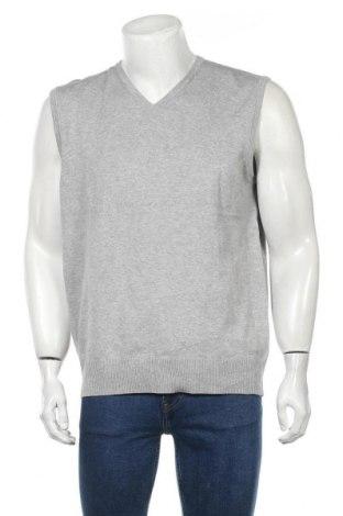 Мъжки пуловер Esprit, Размер XXL, Цвят Сив, 86% памук, 12% полиамид, 2% еластан, Цена 21,42лв.