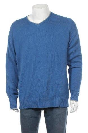 Pánský svetr  Identity, Velikost XL, Barva Modrá, Bavlna, Cena  286,00Kč