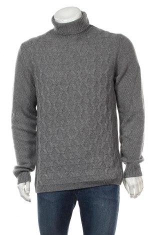 Pulover de bărbați Liu Jo, Mărime XL, Culoare Gri, 80% lână, 20% poliamidă, Preț 174,08 Lei