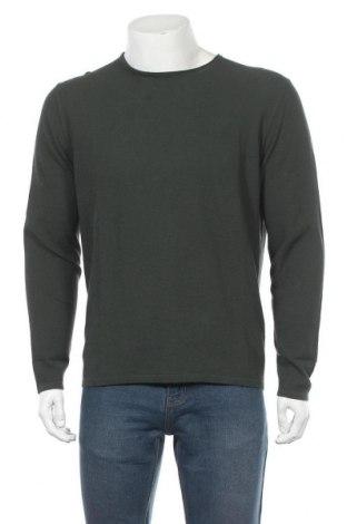 Pánský svetr  Massimo Dutti, Velikost L, Barva Zelená, Bavlna, Cena  774,00Kč