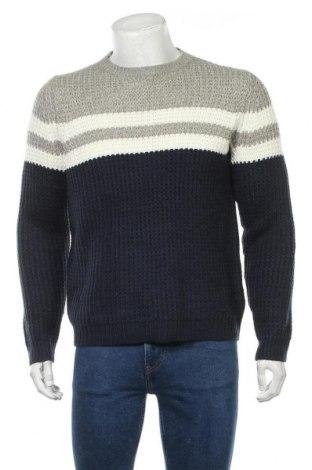 Мъжки пуловер Only & Sons, Размер M, Цвят Многоцветен, Акрил, Цена 35,84лв.