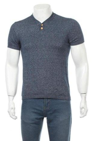 Pánský svetr  Zara Man, Velikost S, Barva Modrá, Cena  383,00Kč