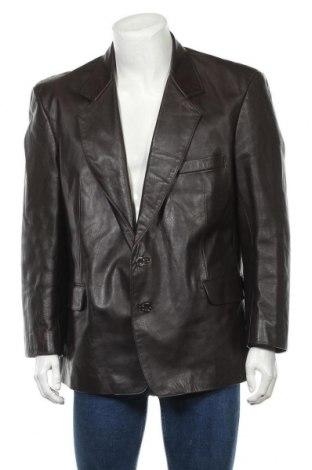 Pánská kožená bunda , Velikost L, Barva Hnědá, Pravá kůže, Cena  1277,00Kč