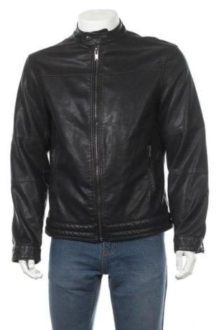 Pánská kožená bunda  Gemo, Velikost L, Barva Černá, Eko kůže, Cena  491,00Kč