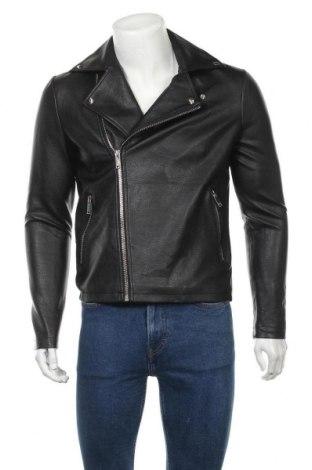 Pánská kožená bunda  Guess, Velikost S, Barva Černá, Eko kůže, Cena  1287,00Kč
