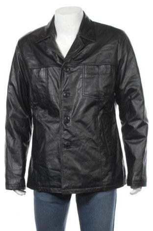 Pánská kožená bunda  Leather Man, Velikost XL, Barva Černá, Pravá kůže, Cena  1122,00Kč