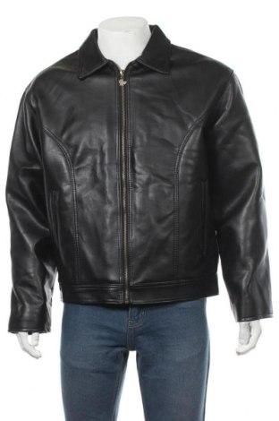 Pánská kožená bunda  Made In Italy, Velikost XL, Barva Černá, Eko kůže, Cena  740,00Kč