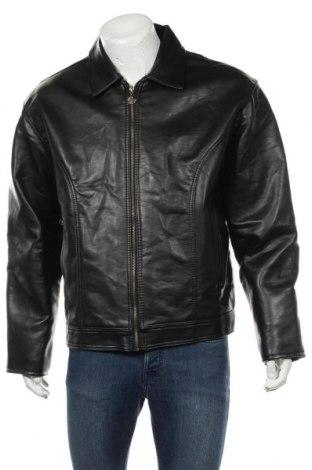 Pánská kožená bunda  Made In Italy, Velikost XL, Barva Černá, Eko kůže, Cena  621,00Kč
