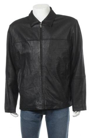 Pánská kožená bunda  Milestone, Velikost XL, Barva Černá, Pravá kůže, Cena  1274,00Kč