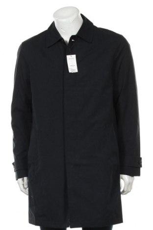 Pánský kabát  Burton of London, Velikost L, Barva Modrá, 52% bavlna, 48% polyester, Cena  1108,00Kč