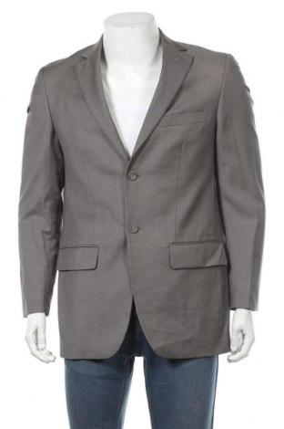 Мъжко сако Alfred Sung, Размер XL, Цвят Сив, Вълна, Цена 12,41лв.