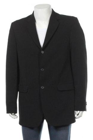 Мъжко сако Angelo Litrico, Размер L, Цвят Черен, 96% полиестер, 4% еластан, Цена 10,66лв.