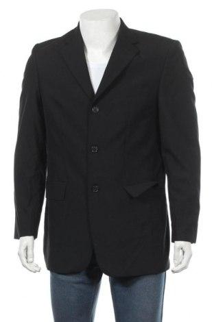 Мъжко сако Angelo Litrico, Размер M, Цвят Черен, Вискоза, Цена 11,76лв.