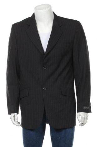 Мъжко сако Brubaker, Размер L, Цвят Черен, 52% вълна, 46% полиестер, 2% еластан, Цена 9,45лв.