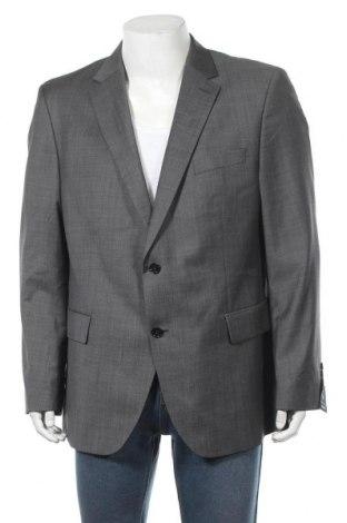 Мъжко сако Pierre Cardin, Размер XL, Цвят Сив, 80% вълна, 10% полиестер, 10% полиамид, Цена 41,06лв.