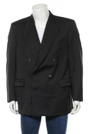 Мъжко сако Pierre Cardin, Размер XL, Цвят Черен, Вълна, Цена 46,41лв.