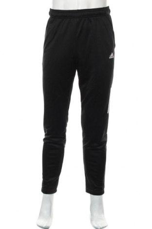 Мъжко спортно долнище Adidas, Размер M, Цвят Черен, Полиестер, Цена 48,76лв.