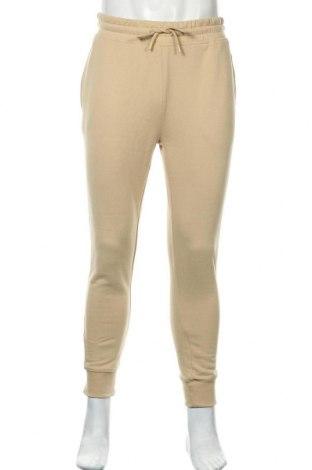 Pantaloni trening de bărbați Topman, Mărime M, Culoare Bej, 58% bumbac, 42% poliester, Preț 88,82 Lei