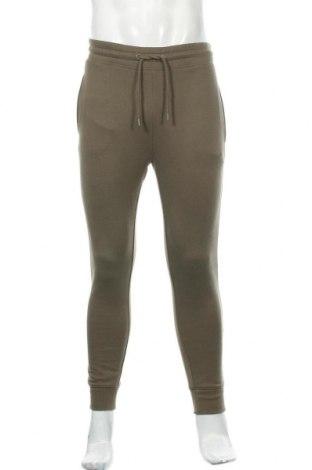 Pantaloni trening de bărbați Topman, Mărime S, Culoare Verde, 58% bumbac, 42% poliester, Preț 145,56 Lei