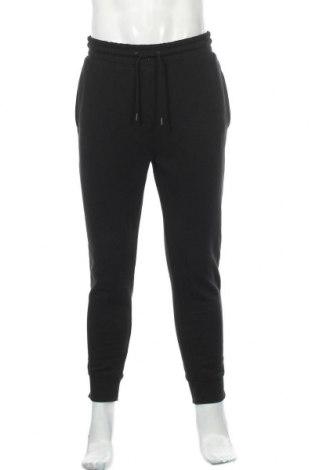 Pantaloni trening de bărbați Topman, Mărime L, Culoare Negru, 58% bumbac, 42% poliester, Preț 145,56 Lei