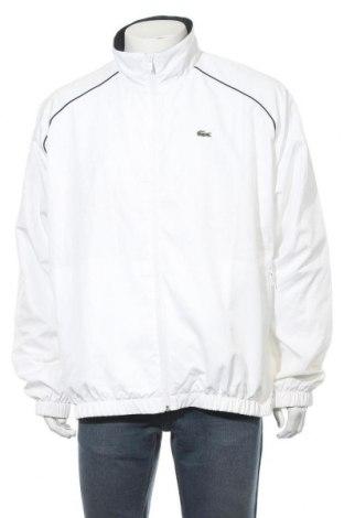Мъжко спортно горнище Lacoste, Размер XXL, Цвят Бял, Полиестер, Цена 76,86лв.
