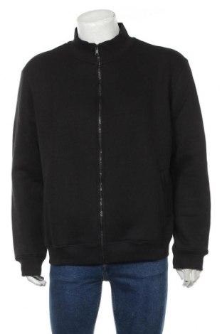 Мъжко спортно горнище Liu Jo, Размер XXL, Цвят Черен, 85% памук, 15% полиестер, Цена 54,50лв.