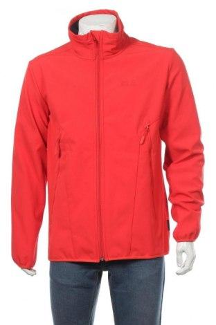 Pánská sportovní bunda  Jack Wolfskin, Velikost L, Barva Červená, 94% polyester, 6% elastan, Cena  2535,00Kč