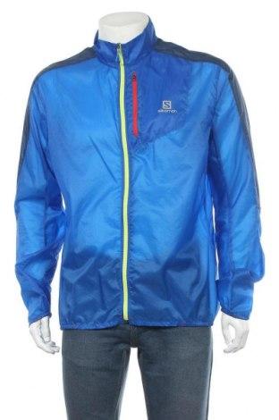 Pánská sportovní bunda  Salomon, Velikost XL, Barva Modrá, Polyamide, Cena  1339,00Kč