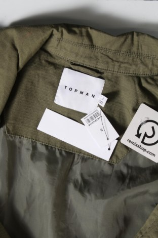 Мъжко яке Topman, Размер S, Цвят Зелен, 98% памук, 2% еластан, Цена 81,75лв.