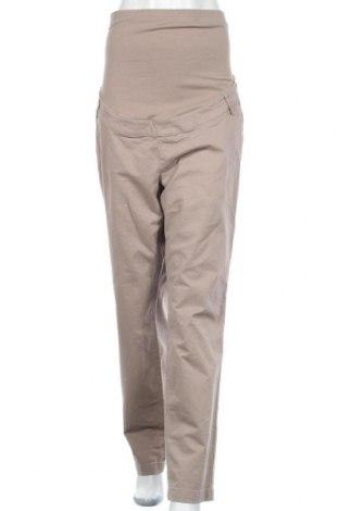 Панталон за бременни Yessica, Размер XL, Цвят Бежов, 98% памук, 2% еластан, Цена 8,40лв.